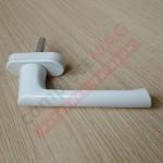 Ручка оконная метал. ТИТАН СТРОНГ, штифт 37 мм (белая)