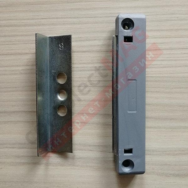 Защелка магнитная балконной двери, TPLK-9 мм.