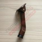 Фиксатор двери накладной (упор) СТН-0960, коричневый