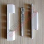 Петля оконная нерегулируемая, 100 мм (белая)