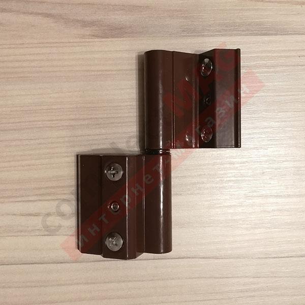 Петля оконная 7BI/41 (AL) для серии P-400, коричневая