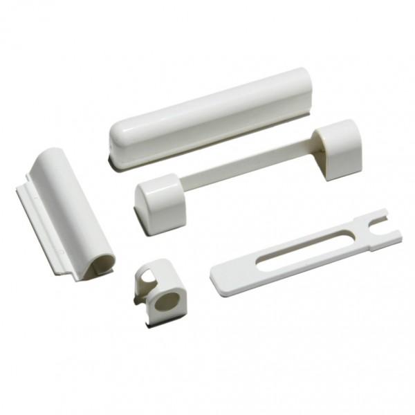 Комплект накладок на оконные петли FORNAX (ФОРНАКС), бел
