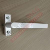 Ручка оконная узкая универсальная, штифт 37 мм (белая)