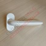 Ручка оконная метал. WH37.3, штифт 37 мм (белая)
