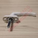 Ручка оконная металлическая WH43.1, штифт 43 мм (бел)
