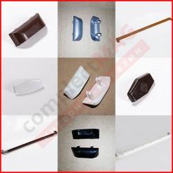 Заглушки для подоконников, отливов, дренажные колпачки
