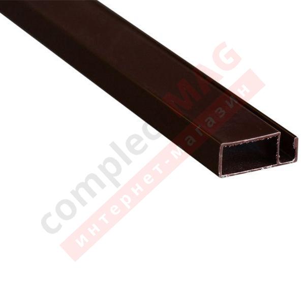 Рамный профиль москитной сетки, 25 мм, КОРИЧНЕВЫЙ