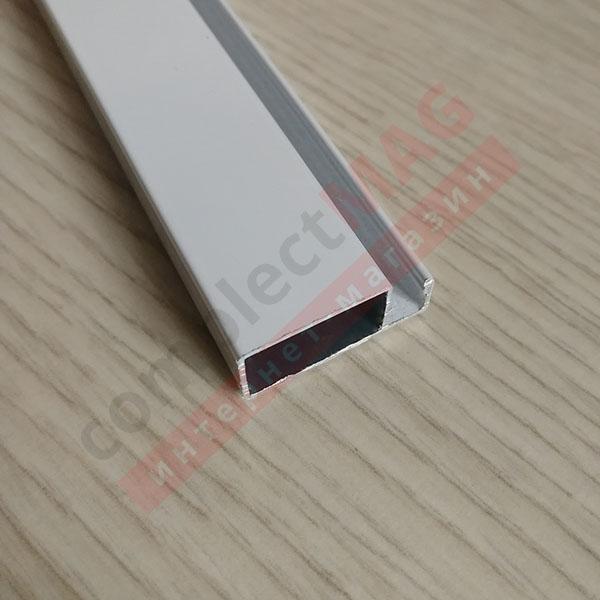 Рамный профиль москитной сетки, 25 мм, БЕЛЫЙ