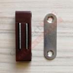 Магнитный держатель для москитной сетки (КОРИЧНЕВЫЙ)