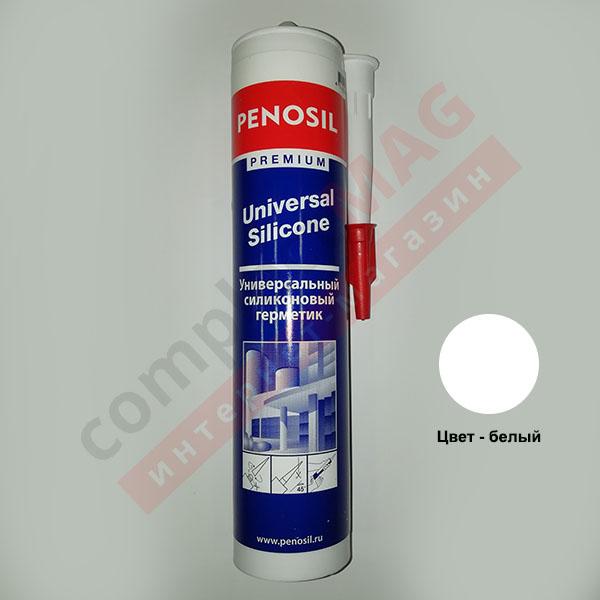 Герметик силиконовый универсальный Penosil U, 310 мл, белый