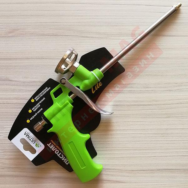 Пистолет для монтажной пены, Ultime Lite