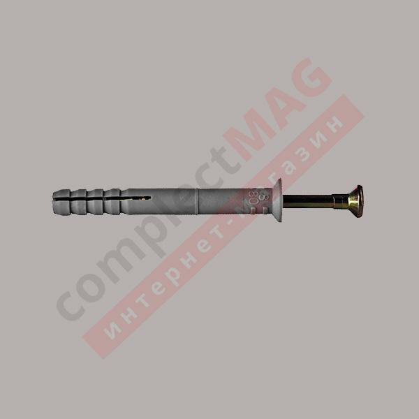 Дюбель-гвоздь ДГ8х60/80 мм, потайной борт