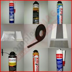 Монтажные материалы (ленты, ПСУЛы, герметики, пена)