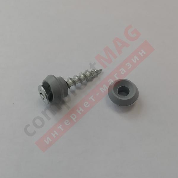 Ниппель под саморез 4 мм. для крепления наличников ПВХ