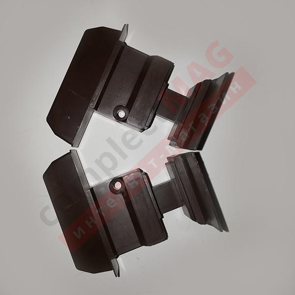 Заглушка для штульпа КВЕ 70 серия, К385, L+R, кор