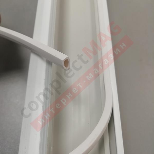 Универсальная заглушка паза штапика, TPE, белая