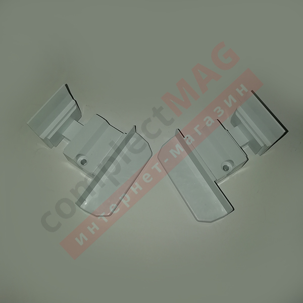 Заглушка для штульпа КВЕ 70 серия, К385, L+R, бел