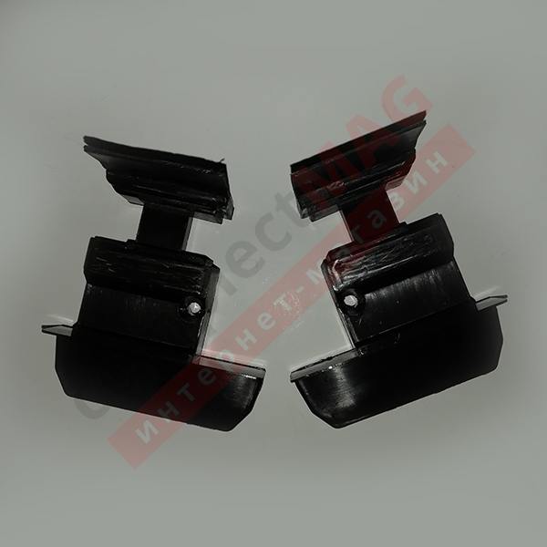 Заглушка для штульпа КВЕ 70 серия, К385, L+R, чёрн