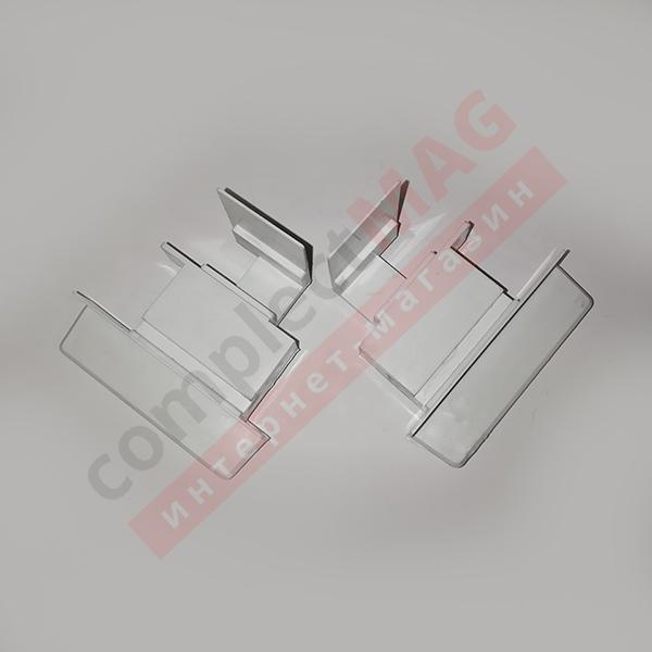 Заглушка для штульпа КВЕ 58 серия, К734, L+R, бел