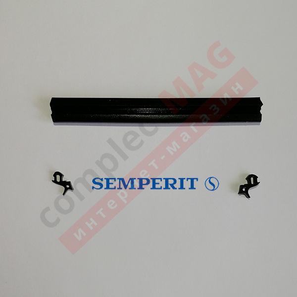 Уплотнение под стеклопакет КВЕ 254 SEMPERIT, 400 пог. м.