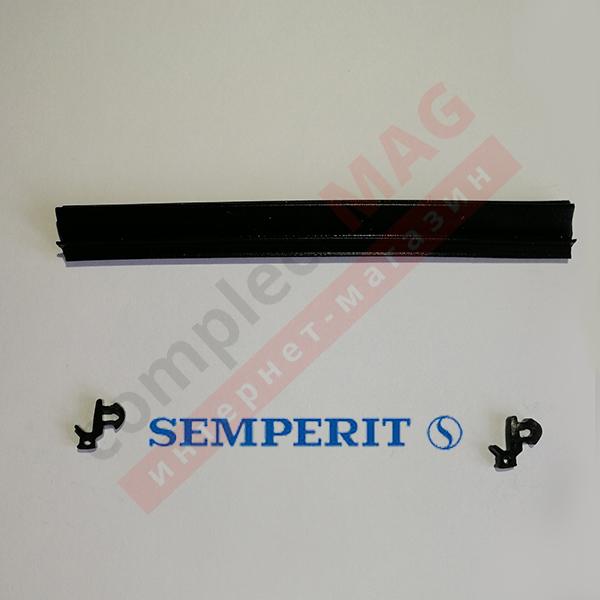 Уплотнение под стеклопакет КВЕ 255 SEMPERIT, 400 пог. м.