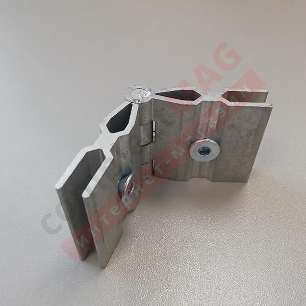 Угловое соединение регулируемое 9ES/07 для рамы C640/35
